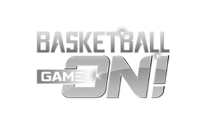Basketball Game ON! - logo-BW