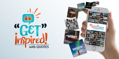 Get Inspired Quotes Logo Branding Image